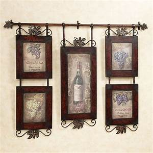 Emilion wine wall art for Wine wall art