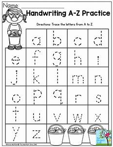 handwriting practice perfect for beginning writers With preschool letter writing