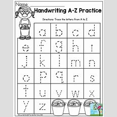 Handwriting Practice Perfect For Beginning Writers! Summer Review No Prep Packet For Preschool
