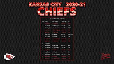 kansas city chiefs wallpaper schedule