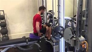 Crpt How To Do A Smith Machine Seated Calf Raise