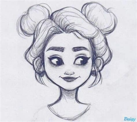 hair flow art drawing inspiration illustration