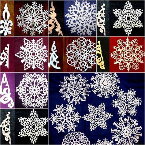 diy easy paper cut snowflake icreativeideascom