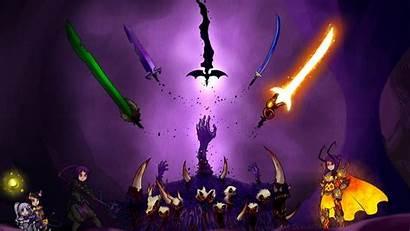 Terraria Wallpapers Swords Altar Games Fan Cave
