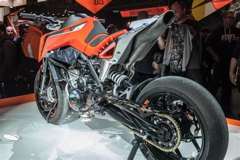 ktm duke 790 auspuff modellnews ktm 790 duke 2018 1000ps ch