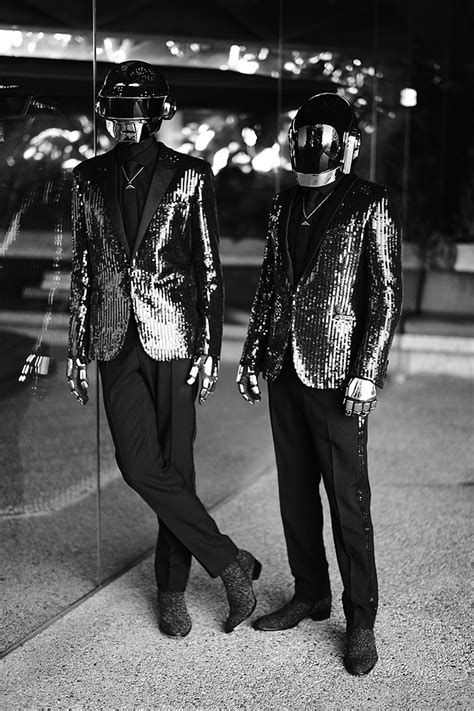 daft punk fashion   black white soletopia