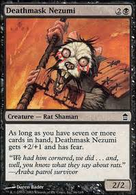 rat deck mtg tapped out all i see is rats casual mtg deck