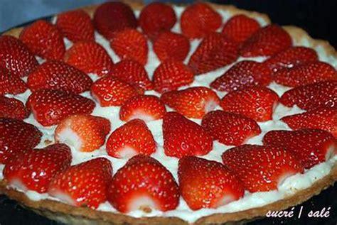 recette de tarte aux fraises cr 232 me p 226 tissi 232 re au mascarpone