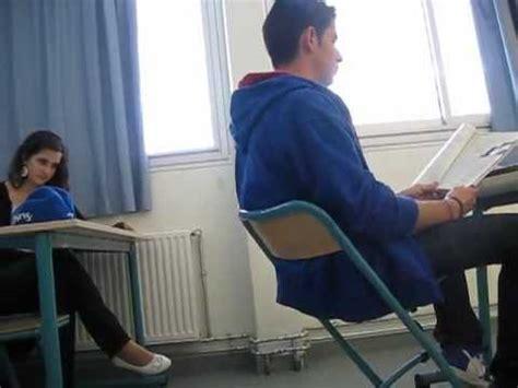 exercice de la chaise il se casse la gueule en cours n 2