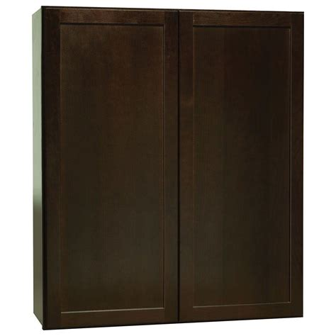 Hton Bay Shaker Wall Cabinets by Hton Bay Shaker Assembled 36x42x12 In Wall Kitchen