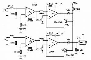 Automatic Switching Circuit Of Voltage And Current Control Mode - Basic Circuit
