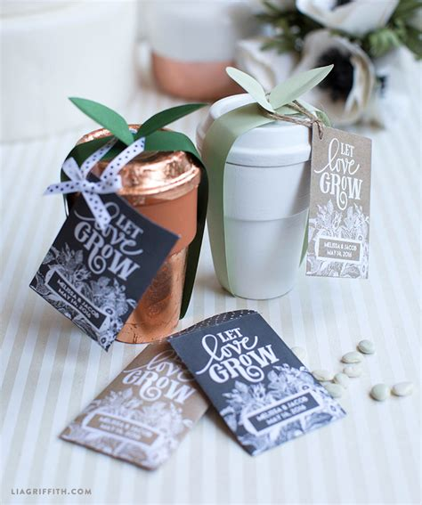 seed packet wedding favors lia griffith