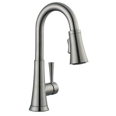 glacier bay 925 series bar faucet in brushed nickel