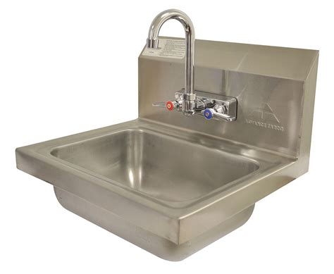 tabco stainless steel sinks advance tabco stainless steel sink with faucet wall