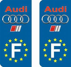 Immatriculation Europe : audi stickers pour plaques immatriculation adh sifs logos r gions ~ Gottalentnigeria.com Avis de Voitures