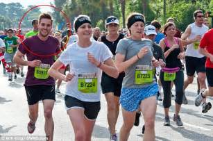 Photogenic Runner Meme - ridiculously photogenic guy zeddie little appears on tv daily mail online