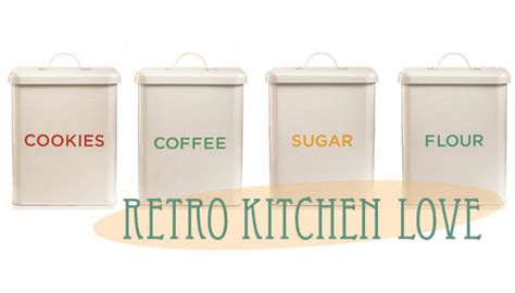 Martha Stewart Kitchen Canisters by Crafting Cardigans May 2012