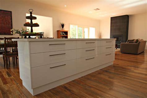 bench for kitchen island modern ballarat white kitchen cabinets matthews joinery