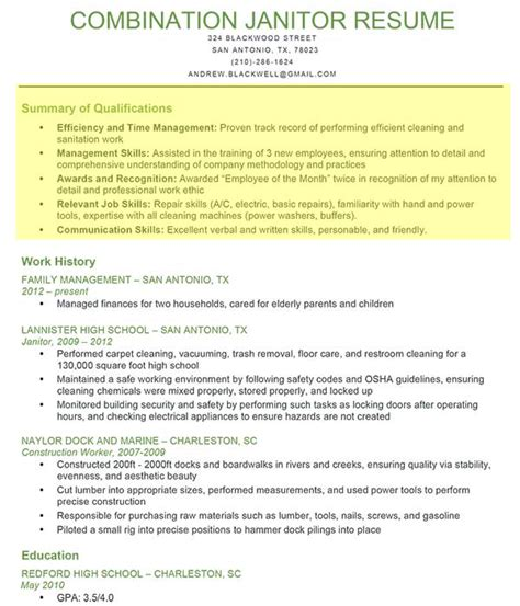 Sle Of Profile Section Of Resume by How To Write A Professional Profile Resume Genius