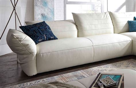 Life 7096 Von K+w Polstermöbel Ledercouch Bianco Sofas