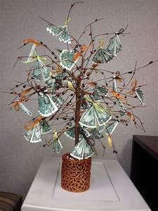 Money tree $$$ | Creative | Creative money gifts, Money ...