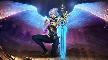 Riven Legends League Lol Wallpapers Wings 4k