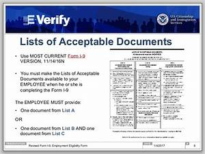 ready for the new form i 9 a step by step guide to 100 i With list of acceptable documents i 9 2017