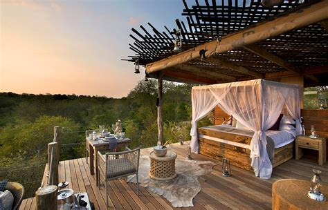 A Treehouse Night At The Lion Sands Private Game Reserve