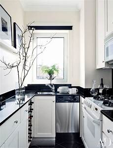 9 Beautiful Black-and-White Kitchens from the AD Archives