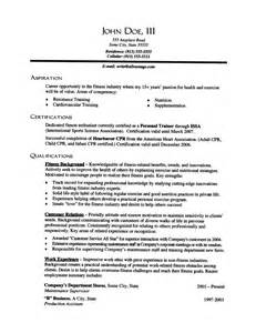 A Resume Exle by Exle Of A Resume Summary Statement 18 Images 7 Firefighter Resume Bursary Cover Letter Bank