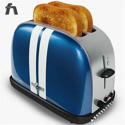 Toaster Hobbs Russell Toast Bread C4d