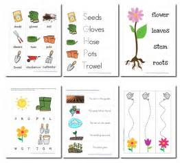Free Printable Garden Preschool Pack