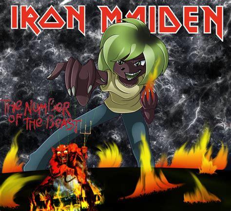 Iron Maiden Eddie Wallpaper The Number Of The Beast By Sofficixribelle On Deviantart