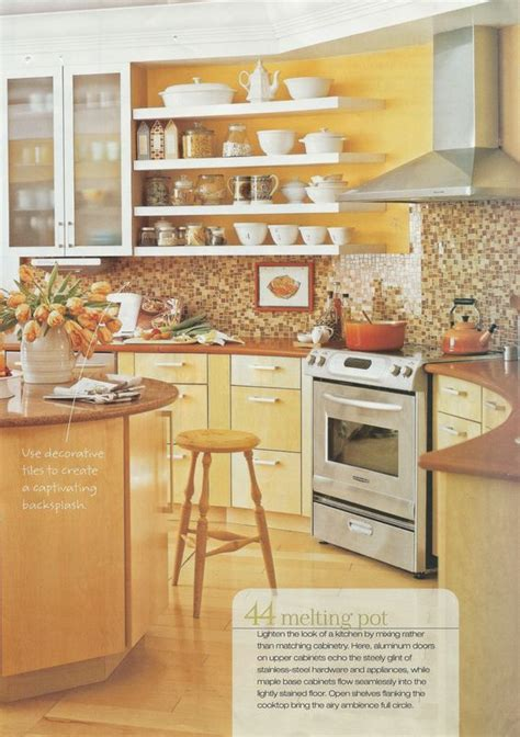 yellow kitchen wall tiles bright yellow kitchen brown tile backsplash maybe yellow 1695