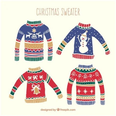 Cricut design space, and silhouette designer edition, make the cut (mtc), sure cuts a lot (scal), and brother scan and cut canvas software. Christmas Sweater Vectors, Photos and PSD files | Free ...