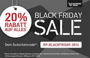 Wann Ist Der Black Friday 2018 : 20 rabatt im online shop von runners point am black friday black ~ Orissabook.com Haus und Dekorationen