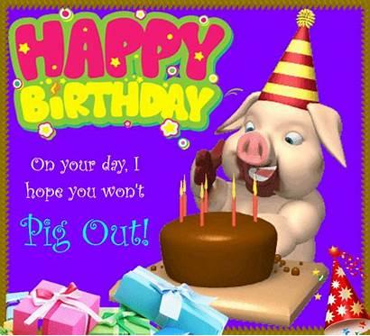Pig Hope Birthday Fun Won Funny Wishes