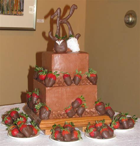 dessert box chocolate strawberry grooms cake