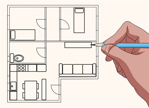 How To Draw Blueprints For A House (with Pictures)