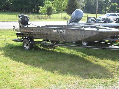 Mud Buddy Duck Boat Blind by Mud Motor Duck Boat Boats For Sale