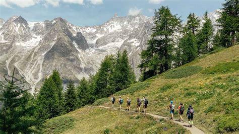 du mont blanc hike  alps rei adventures