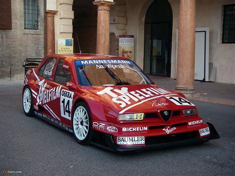 Alfa Romeo 155 2.5 V6 TI DTM SE062 (1995) images (1280x960)