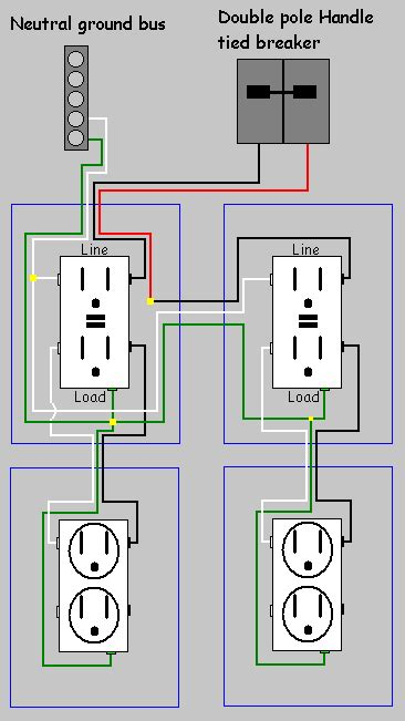 Electrical How Replace Two Split Receptacles With