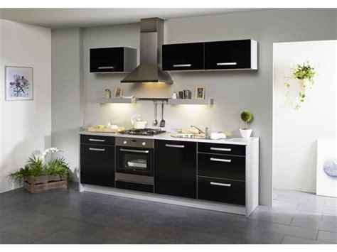 meuble de cuisine design meuble de cuisine noir laque