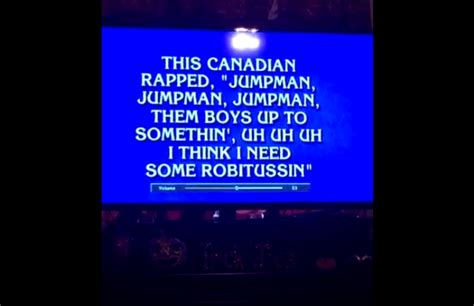 "Drake's ""jumpan"" Was A Clue On Jeopardy Complex"