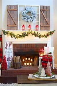 35, Christmas, Mantel, Decorations