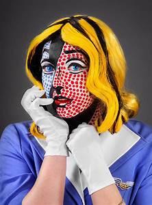Pop Art Kleidung : pop art schminkanleitung ~ Indierocktalk.com Haus und Dekorationen