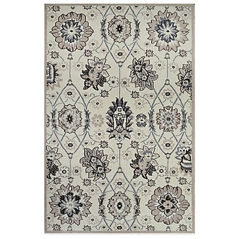 westwood accent rug westwood traditional floral accent rug in ivory bed bath