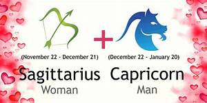 Sagittarius Woman And Capricorn Man Love Compatibility