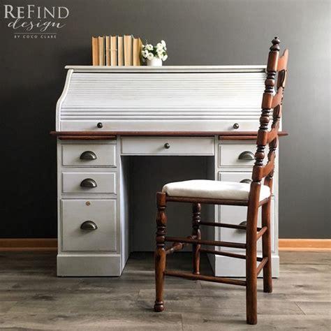 roll top desk  brown mahogany java gel stains